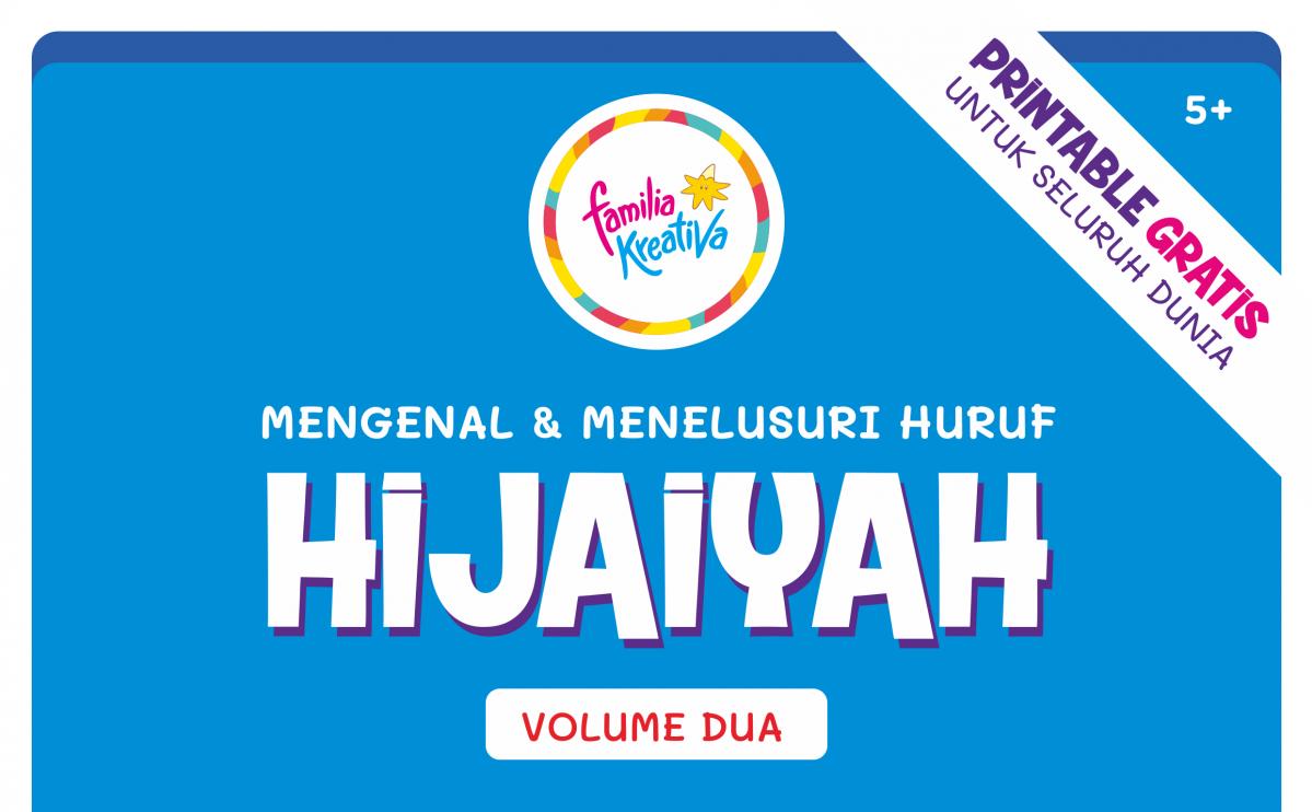 Telusur Huruf Hijaiyah Vol 2 Lanjutan Printable Gratis Terfavorit