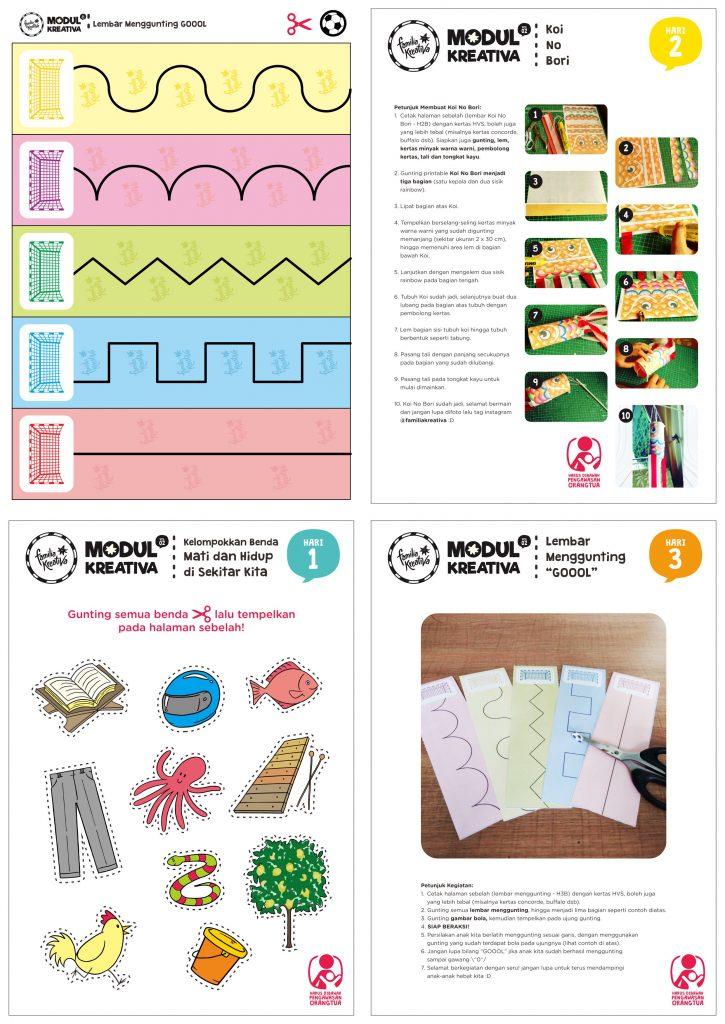Printable Gratis Modul Kreativa Vol 2 Semakin Seru Familia Kreativa