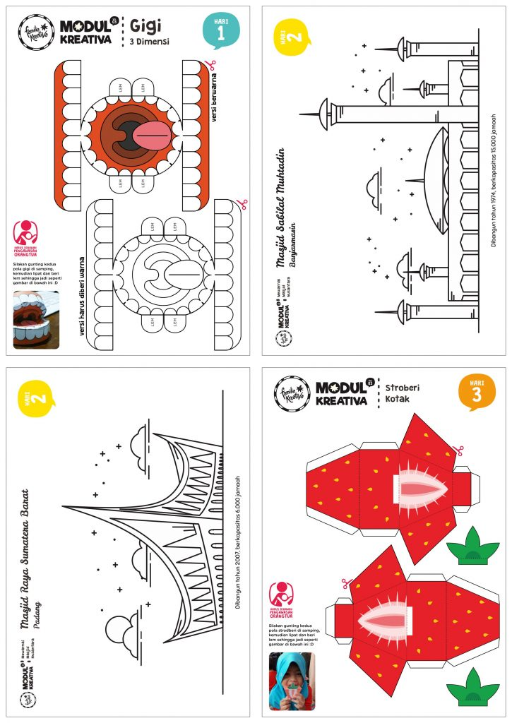 Printable isi Modul Kreativa vol. 3