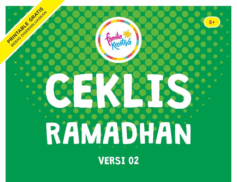 Ceklis Ramadhan