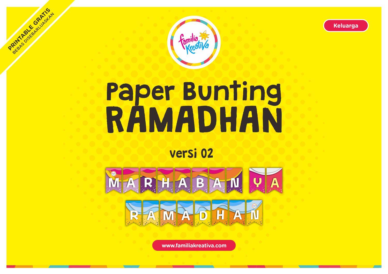 Paper Bunting versi 2