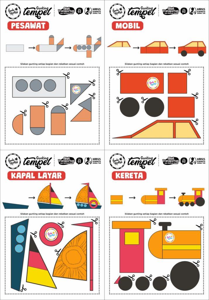 Printable Alat Transportasi 2